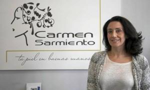 Carmen Sarmiento se formó en Madrid antes de abrir su primer centro en Sevilla, en la trianera Avenida de Coria. J. M. espino (Atese)