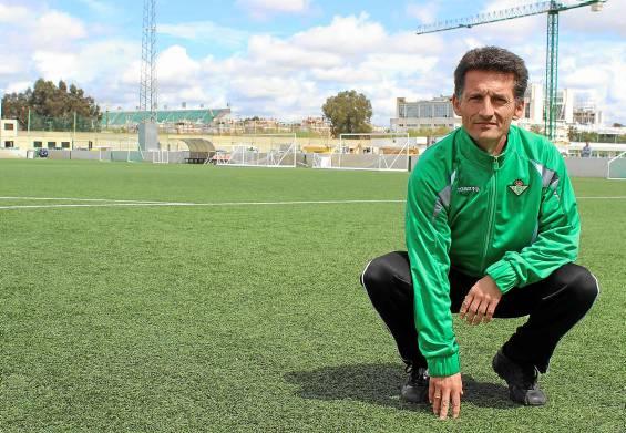 Luis Fradua, en la ciudad deportiva / José Carlos Cruz (Atese)