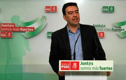 El número dos del PSOE-A, Mario Jiménez.