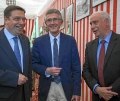 Luis Planas, Rafael Rodríguez y Luciano Alonso.- J.M. ESPINO (Atese)