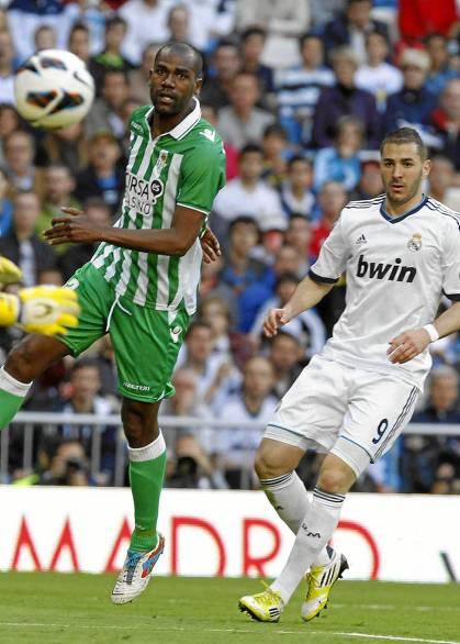 Paulao y Benzema, en el partido del sábado / Marcamedia