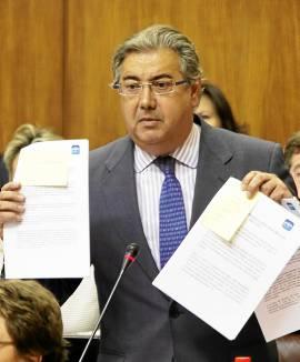 El presidente del PP-A, Juan Ignacio Zoido.