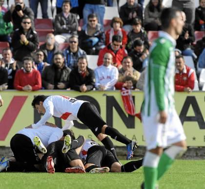 Imagen del 4-0 en el derbi chico de la ida / Marcamedia