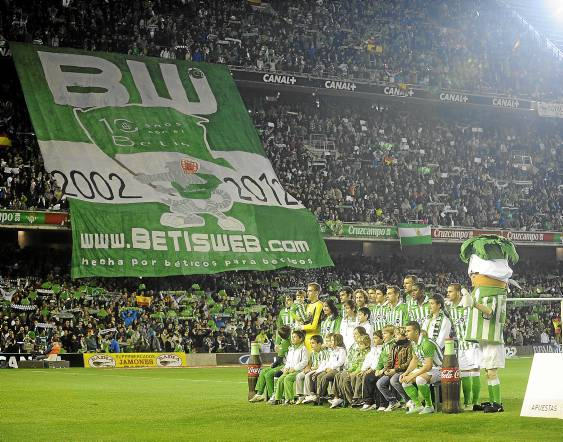 Así estaba el Villamarín el día del Barcelona / Marcamedia