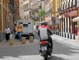 La calle Trajano es una de las afectadas