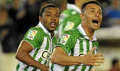 Pabón y Rubén Castro, la delantera del Betis / Marcamedia