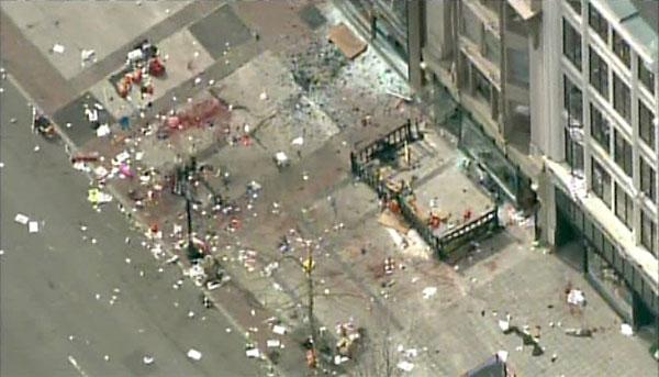 Explosión - Maratón de Boston