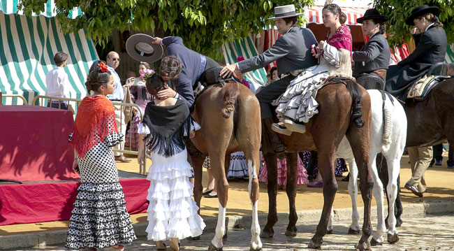 Ambiente en la Feria este jueves.  / Foto: J. M. Espino (Atese)