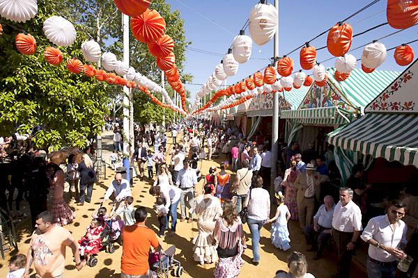 En la Feria de Abril este miércoles. / Foto: J. M. Paisano (Atese)