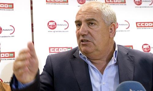 El actual vicesecretario de UGT-A, Francisco Fernández.