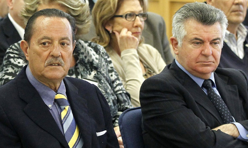 Julián Muñoz y Juan Antonio Roca. / E.P.