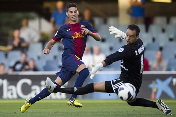 Cristian Lobato anotando un gol (Marcamedia)