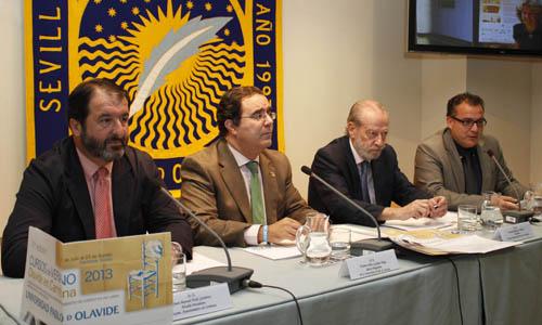 Presentación en Carmona de los cursos de verano de la UPO.
