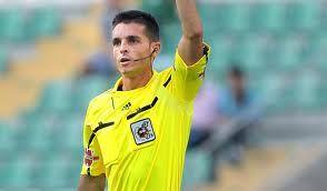 Carlos del Cerro Grande, el árbitro del derbi.