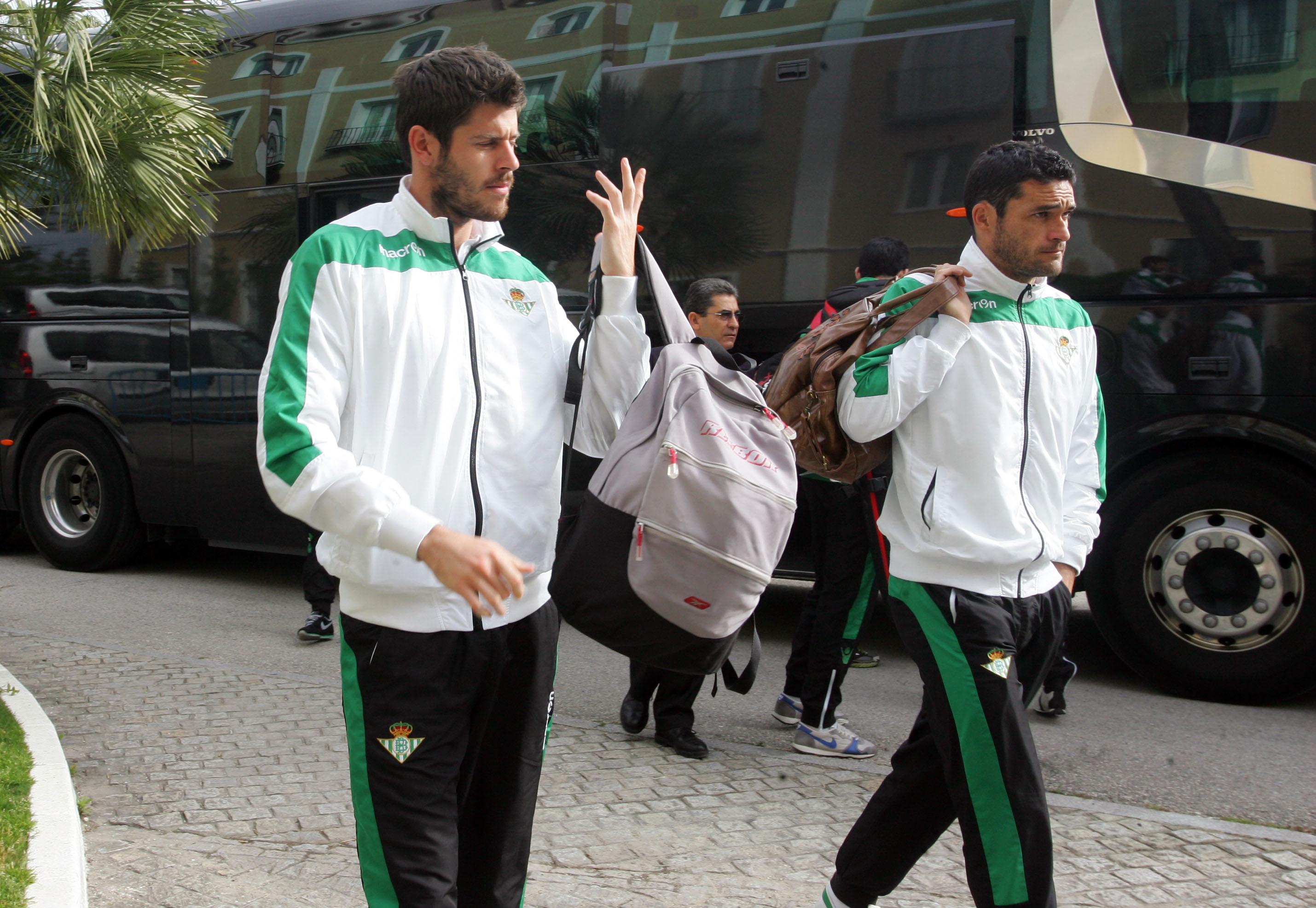 Miguel Guillén y Pepe Mel, este martes en la Feria / Marcamedia