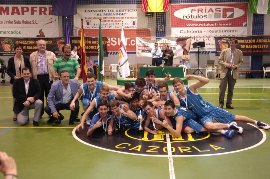 El Cajasol, campeón de Andalucía júnior.
