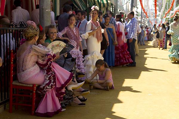 Ambiente en la Feria este martes. / Foto: Manuel R. R.