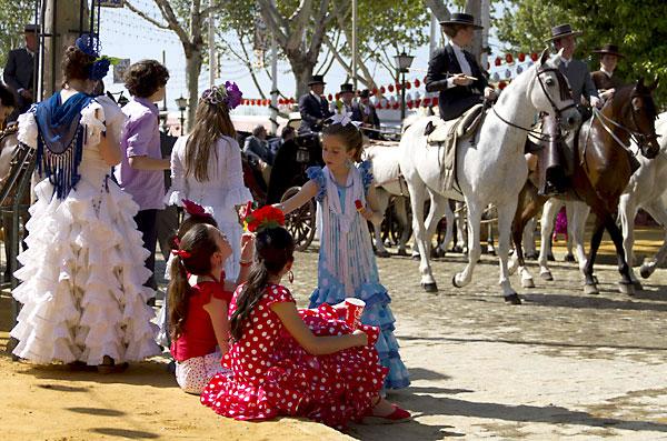 Ambiente en la Feria este martes. / Foto: E. Recio