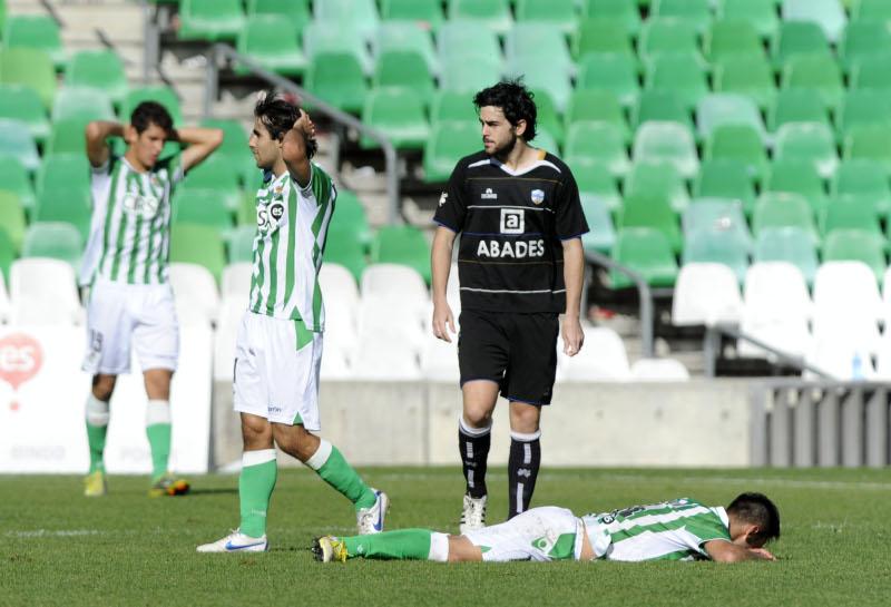 El filial cayó en Loja en el minuto 92. / Marcamedia