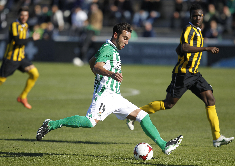 Nono jugó ante el San Roque / Marcamedia