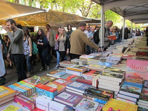 libros Barcelona Saint Jordi