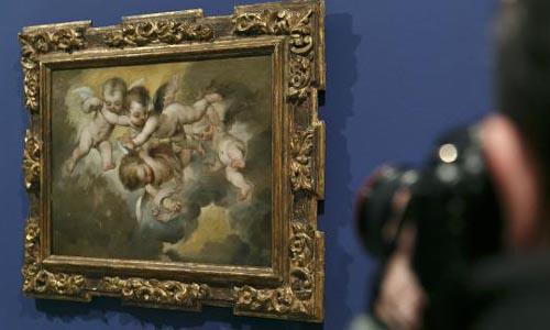 'Gloria de cuatro ángeles volanderos' de Murillo