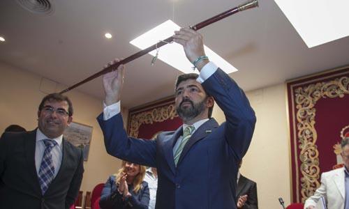 Modesto González, el nuevo alcalde de Coria del Río. /J.M. Espino