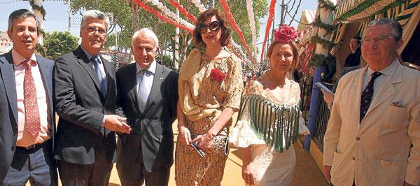 Juan Antonio Navarrete, director de Distribución de Endesa en Andalucía;