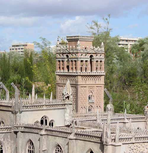 ruinas andalucia niños