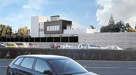 Recreación del futuro edificio del Mercantil.