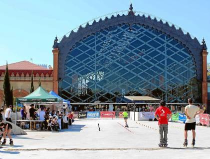 Aspecto actual del entorno de Plaza de Armas, donde se construirá un nuevo edificio.