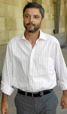 Fernando Mellet, una de las veces que acudió a declarar. (Paco Puentes)