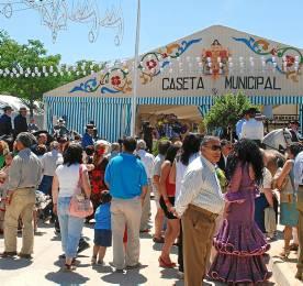La Feria de Osuna todos los años está muy animada.