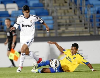 Juanfran, en un partido con el Castilla / Marcamedia