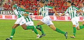 Assunçao celebra el 0-1 en aquel partido en Son Moix.