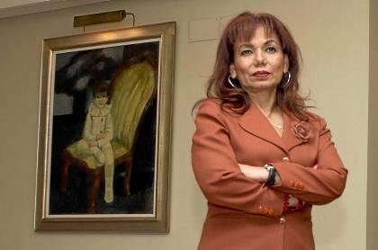 Embajadora de Ecuador en España, Aminta Buenaño. Manu R.R.