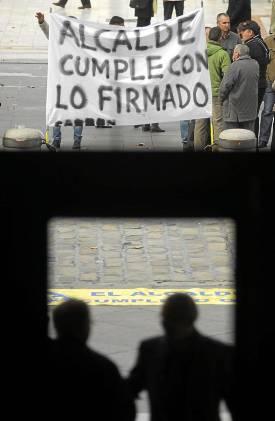 Los afectados se movilizaron para recuperar su dinero. Paco Puentes (NPhoto)