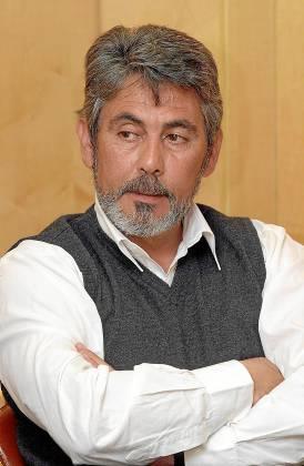 El alcalde de El Garrobo, Bernardo Alcón.