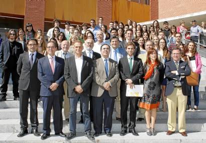 Premios a la Excelencia Académica de la UPO, entregados este miércoles.
