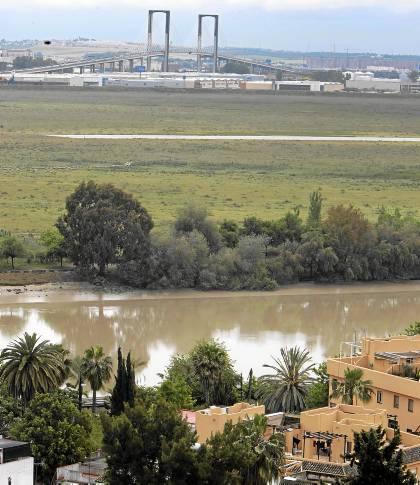 Terrenos de Tablada vistos desde San Juan de Aznalfarache. / Paco Cazalla