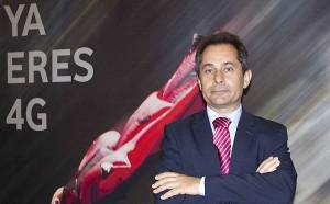 El director territorial de la Zona Sur de Vodafone, Antonio Fernández presentó el nuevo servicio