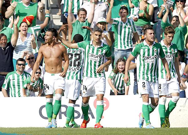 Real Betis - Celta de Vigo / Foto: Marcamedia