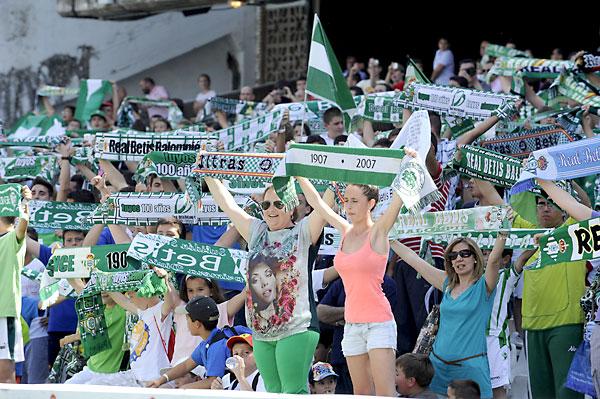 Real Betis - Celta de Vigo. Foto: Marcamedia