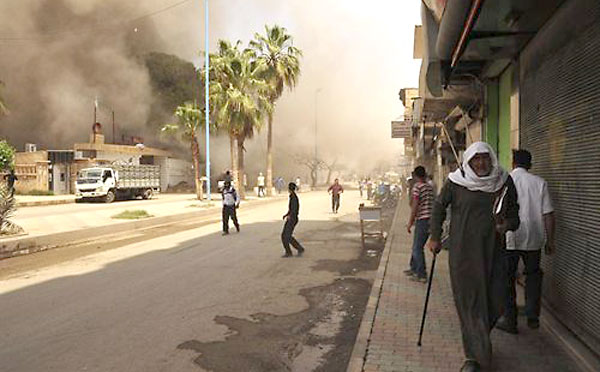 Bombardeo de Israel en Siria