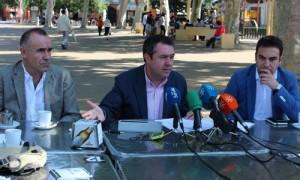 El portavoz municipal del PSOE hace balance del ecuador del mandato del PP