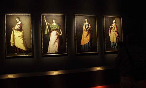 Inaugurada la exposición 'Santas de Zurbarán: devoción y persuasión'. /J.M. Espino (ATESE)