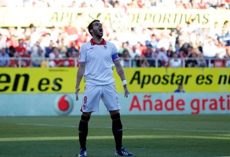 Negredo celebra su gol (Marcamedia).
