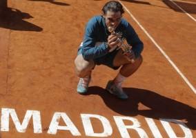 Rafa Nadal, hoy en Madrid / Reuters