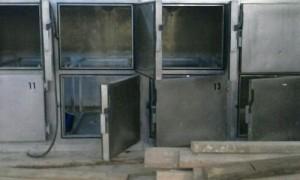 En los últimos robos se han llevado las bandejas y los motores de las cámaras frigoríficas del cementerio.