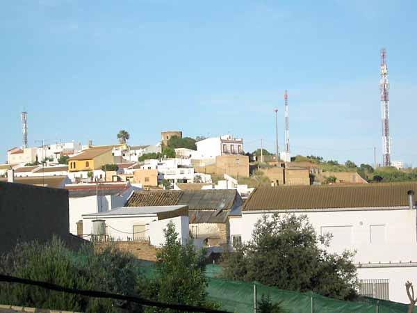 Antenas de telefonía móvil en el municipio. / Foto: Grupo Afectados Antenas Aznalcóllar